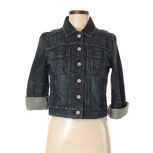 Express Dark Wash Jean Jacket